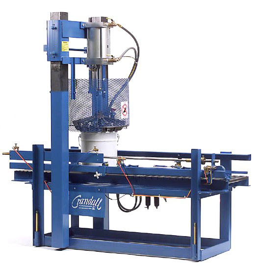 CRA Fully Automatic Crimping Machine for Pail Fillers and Drum Closing