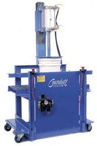 CRS Semi-Automatic Pail Closing/Crimping Machines for closing plastic and metal pails